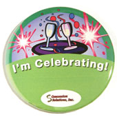 """I´m Celebrating"" Button"