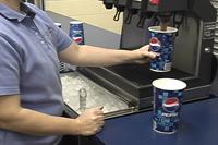 Filling a Soda cup